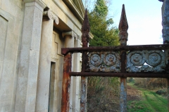 Ammerdown Park - the left gate